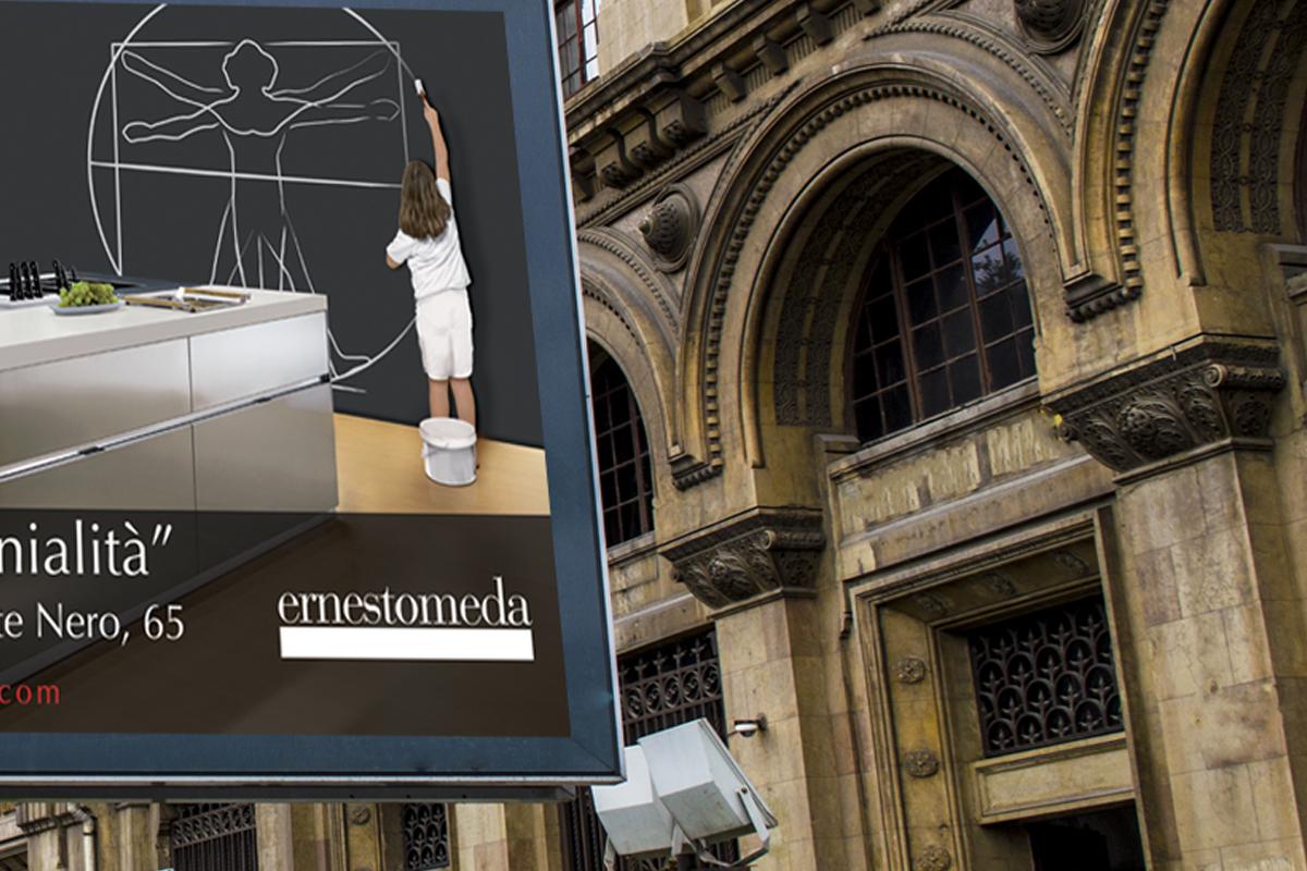 Ernestomeda – Campagna Inaugurazione Showroom